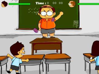 Bagarre en classe