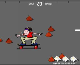 Skate board scato