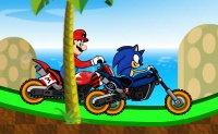 sonic Contre Mario